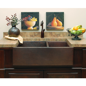 sierra copper SCHD6435 Farmhouse Kitchen Sink