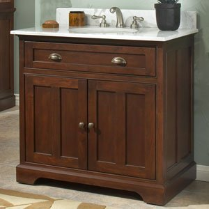 Perfect Sagehill Designs Somerset 36 Inch Solid Wood Bathroom Vanity