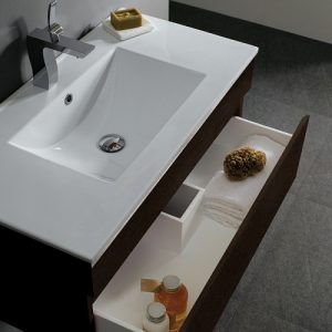 35 Inch Pull Out Wall Mount Vanity From Vigo Industries