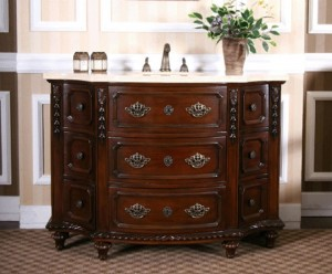 lavish antique bathroom vanities for an decadent period style bathroom - Furniture In The Bathroom