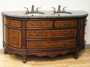 Antique Dresser Style Vanity From Legion Furniture