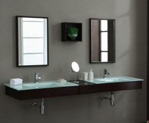Blox Double Console Vanity With Connector