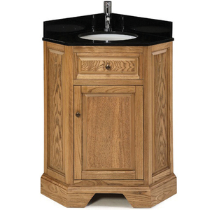 Chesapeake Corner Vanity in Driftwood from Pegasus