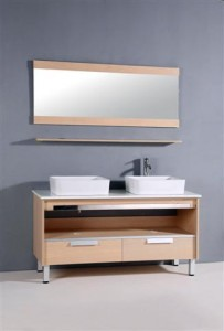 Light Maple Spa Style Bathroom Vanity From Legion Furniture
