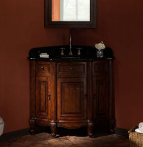 Manor Corner Vanity from Xylem