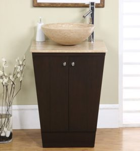Museum Style Pedestal Vanity And Vessel Sink From Silkroad Exclusive