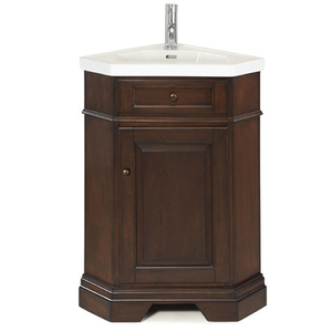 Richmond Corner Vanity in Mahogany fom Pegasus