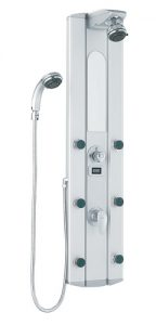 Shower Massager Panel With Digital Thermometer From Vigo Industries