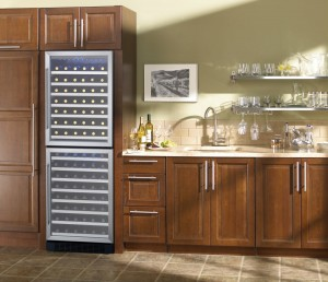 90-Bottle Dual Zone Wine Cooler From Marvel