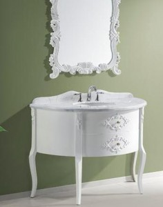 Abigail 48 Inch White Bathroom Vanity From Virtu USA