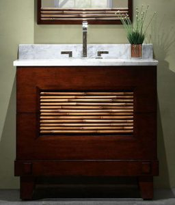 Bambu 36 Inch Bathroom Vanity From Xylem