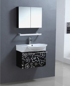 Flower Power Wall Mounted Bathroom Vanity From Legion Furniture