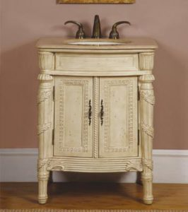 Hand Carved Victorian Vanity From Silkroad Exclusive