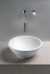 Vessel Sinks Bathroom on White Vessel Sinks   A New Twist On The Classic Bathroom Sink