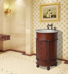 Mars Single Sink Vanity With Cream Marfil Top From Stufurhome