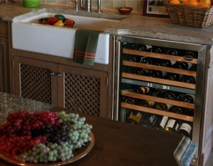 Marvel Wine Cooler With 68 Bottle Capacity And Wine Cradle