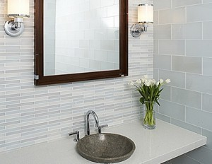 Matching Colors Can Help Unify Your Bathroom
