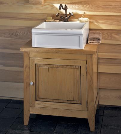 Innovative Natural Wood Vanity  Signaturehardwarecom