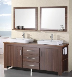 Washington 72 Inch Double Sink Bathroom Vanity From Design Element