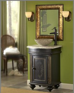 Arlington 24 Inch Antique Vanity From Kaco