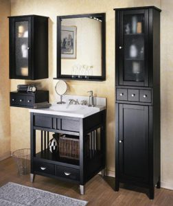 Metro Espresso Bathroom Vanity And Storage Collection From Sagehill Designs