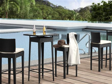 Railay Outdoor Pub Table And Chair Set