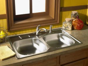 Top Mount Stainless Steel 20 Gauge 18-10 Sink From AmeriSink