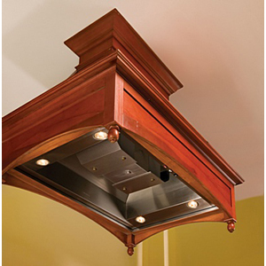 Vent-A-Hood TH454PSLESS Decorative Professional Island Hood