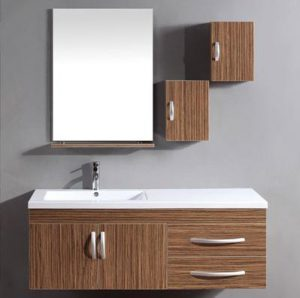Find the perfect storage cabinets for your bathroom without replacing your bathroom vanity for Prefabricated bathroom cabinets
