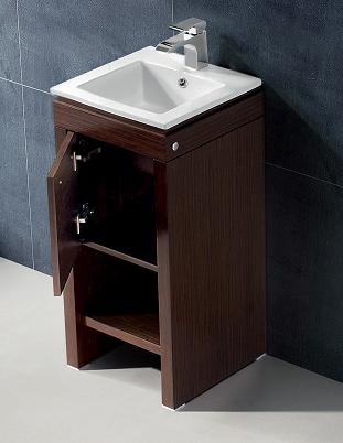 Small bathroom solutions storage smart bathroom vanities - Bath vanities for small spaces set ...