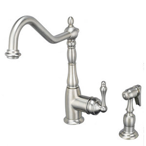 Artisan Satin Nickel Kitchen Faucet