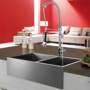 Smaller Kitchen Commercial Pull Down Faucets