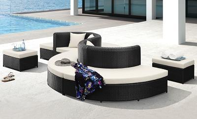 Ipanema Modular Modern Patio Set From Zuo