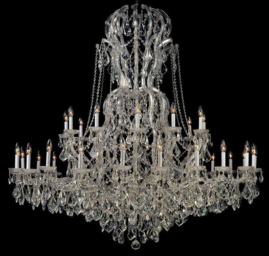 Crystal Chandeliers For Big Luxurious Spaces