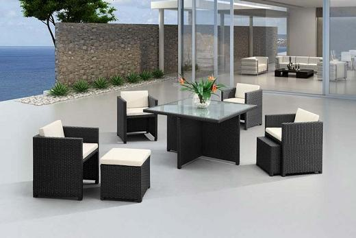 Naples Table And Chair Set From Zuo