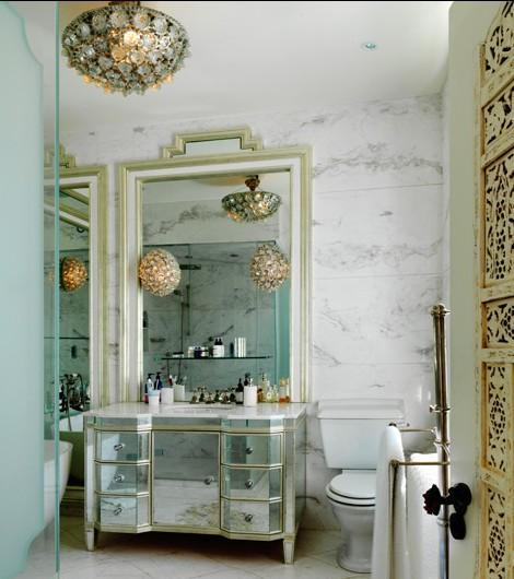 Parisian Chic Bathroom Design - Building An Exotic Getaway In Your ...