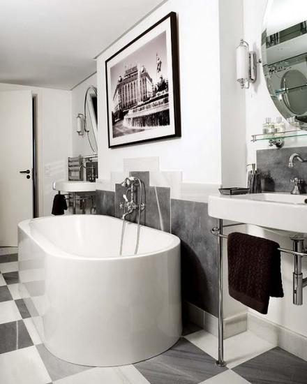 Paris Style Bathroom Decor: Parisian Chic Bathroom Design