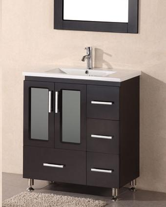 Small bathroom solutions storage smart bathroom vanities - Bathroom vanities 32 inches wide ...