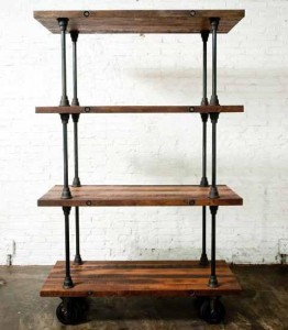 V16 Reclaimed Wood Shelving From Nuevo