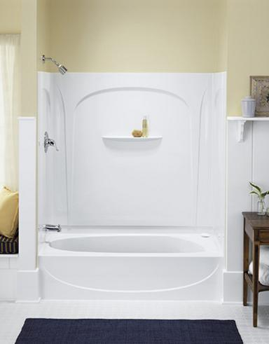 118 Shallow Tub Shower Combination - tt 603677 or 79 l diamond tub ...