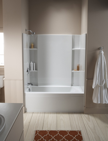 Accord 7116 Bathtub Shower Combo With 20 Inch Apron From Sterling