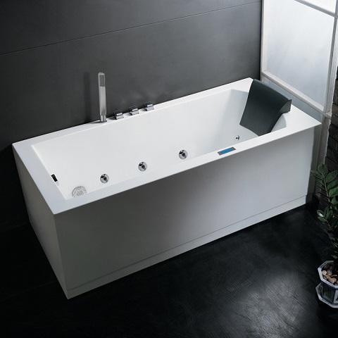 Ariel Platinum AM154JDTSZ Whirlpool Bathtub With FM Radio