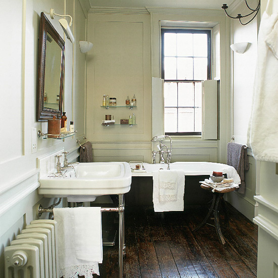 English Country Bathroom Designs: Authentic Period Design For