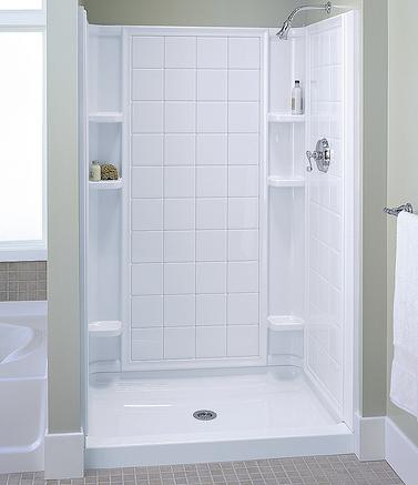 Shower Stalls And Shower Walls Surprising Solutions For Your Shower