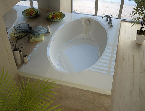 venzi viola 42 x 72 rectangular air jetted bathtub with right drain vz4272var - Jetted Bathtub