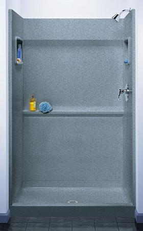 Shower Stalls And Shower Walls Surprising Solutions For