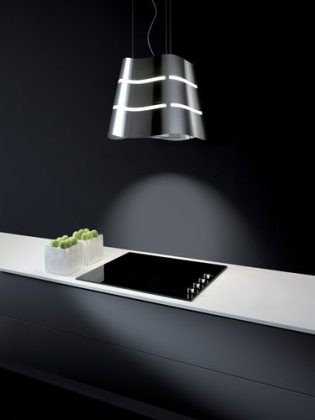 Wave Ductless Island Range Hood From Elica