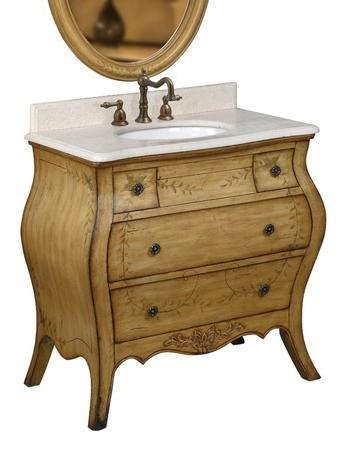 Hand Painted Bathroom Vanities Add Whimsy And Charm To Your Bathroom