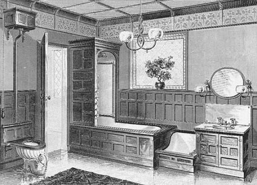 Victorian Bathroom Design Authentic Period For