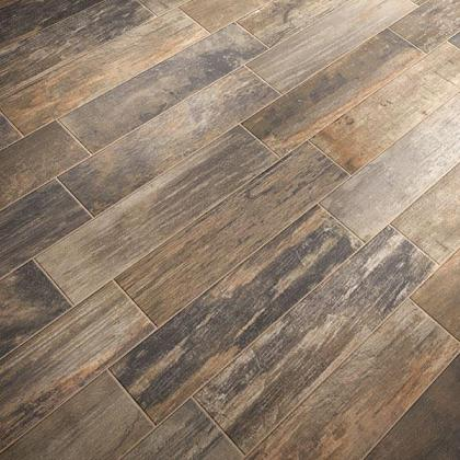 Wood tile flooring a new alternative to hardwood and for Tile and hardwood floor